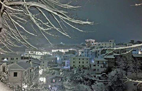 Loro Ciuffenna - Neve