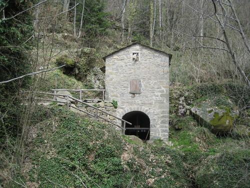 Il mulino della Rocca Ricciarda