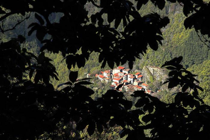 La Rocca Ricciarda antico castello dei conti Guidi signori di Toscana
