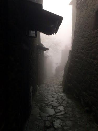 La Rocca avvolta dalla nebbia
