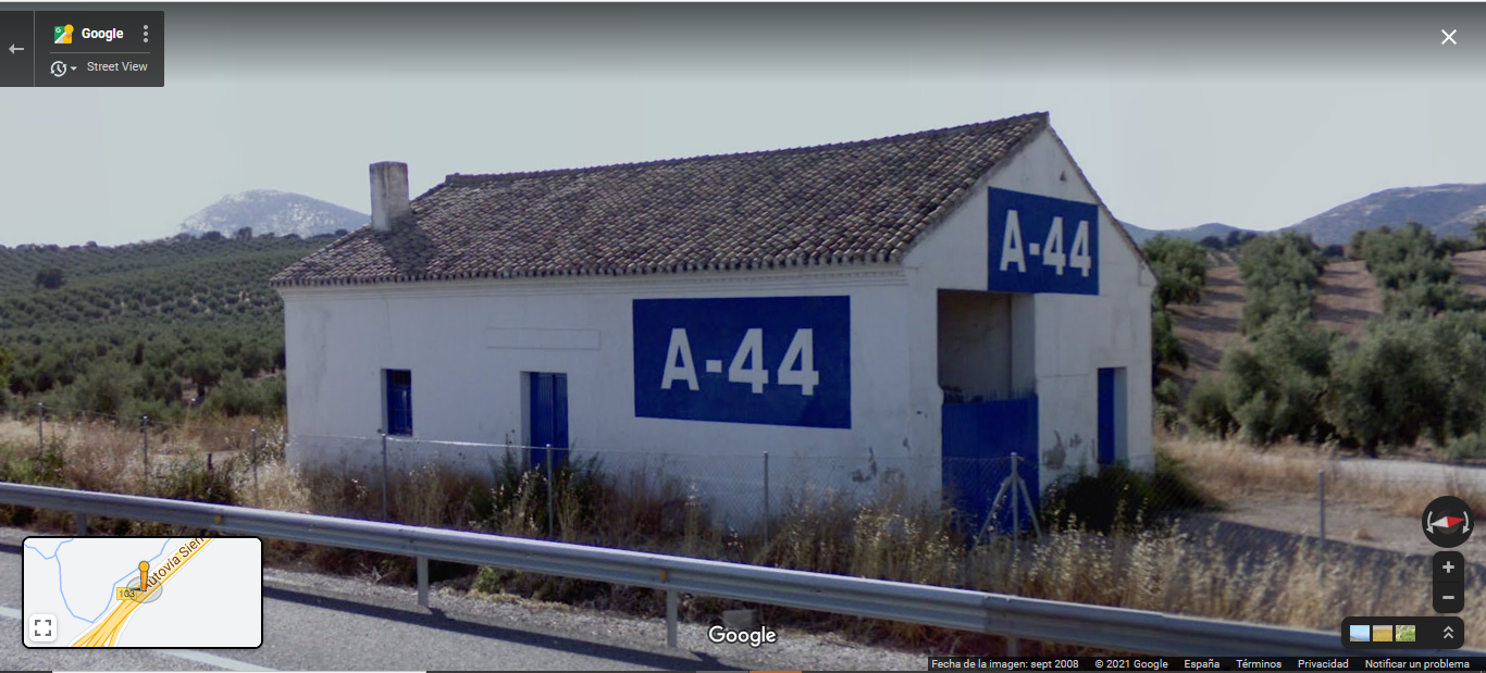 Google Maps en septiembre de 2008.