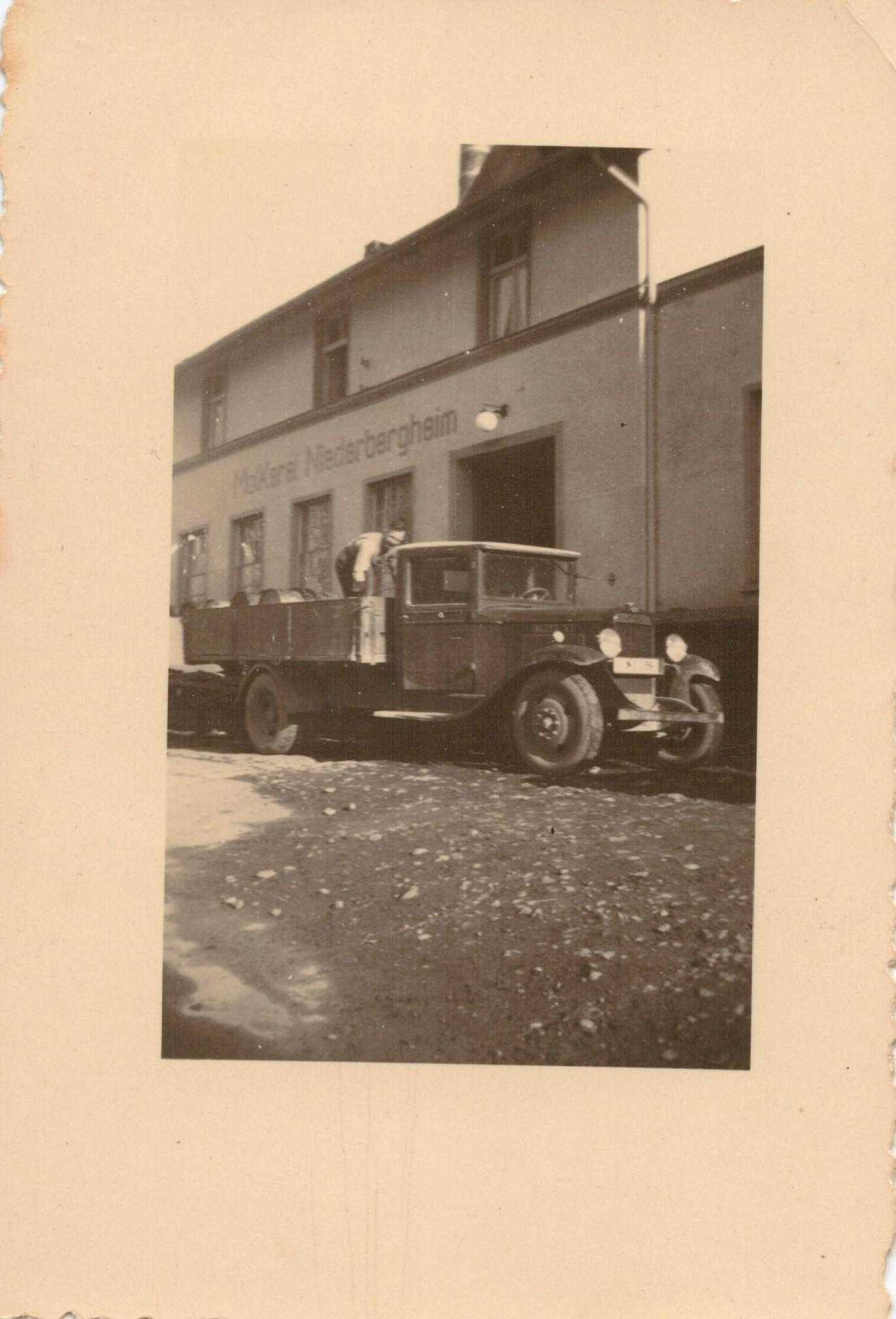 Molkerei um 1950