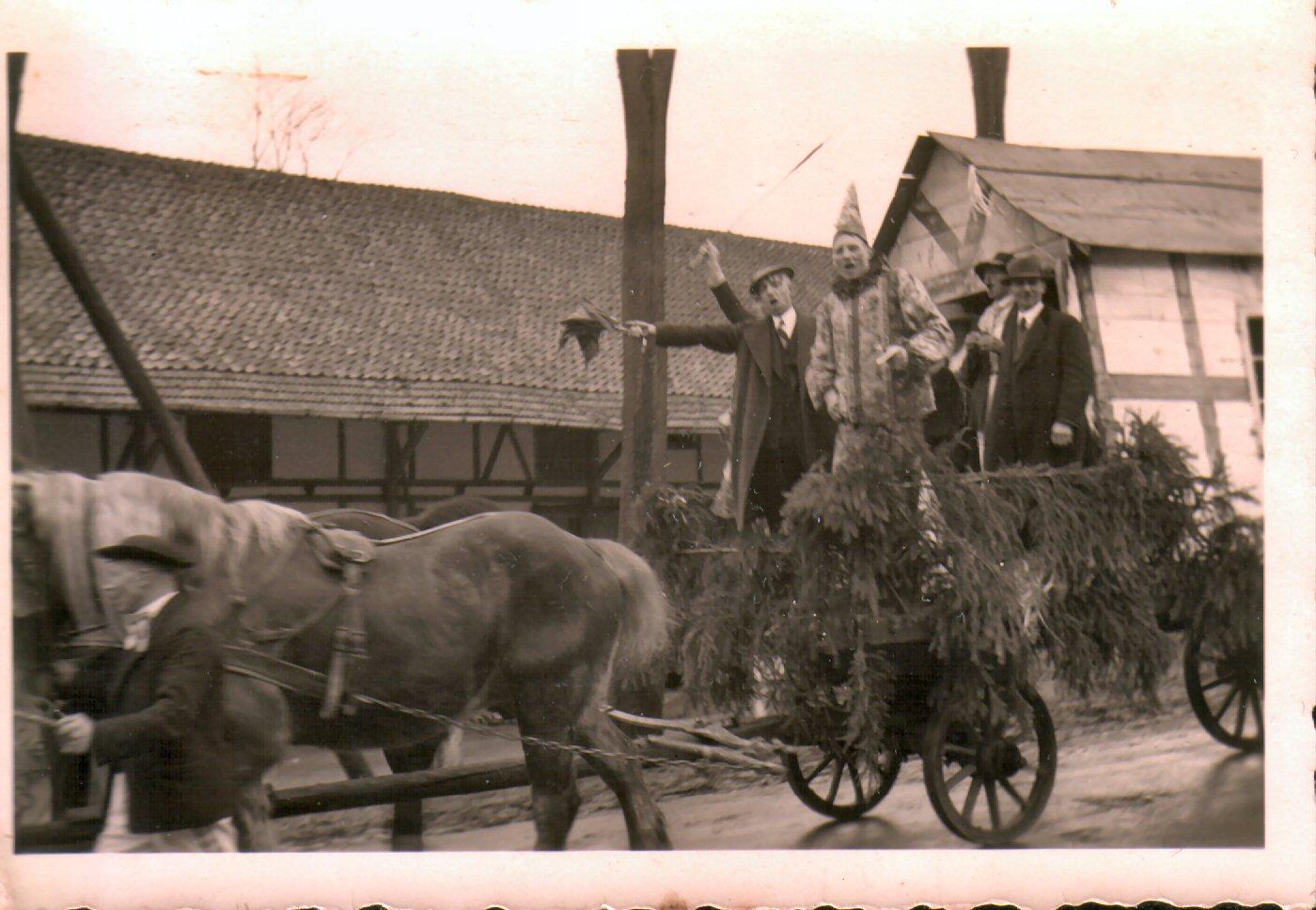 Karnevalsumzug 1938