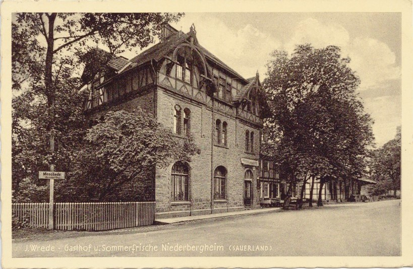 Gasthof Wrede um 1935