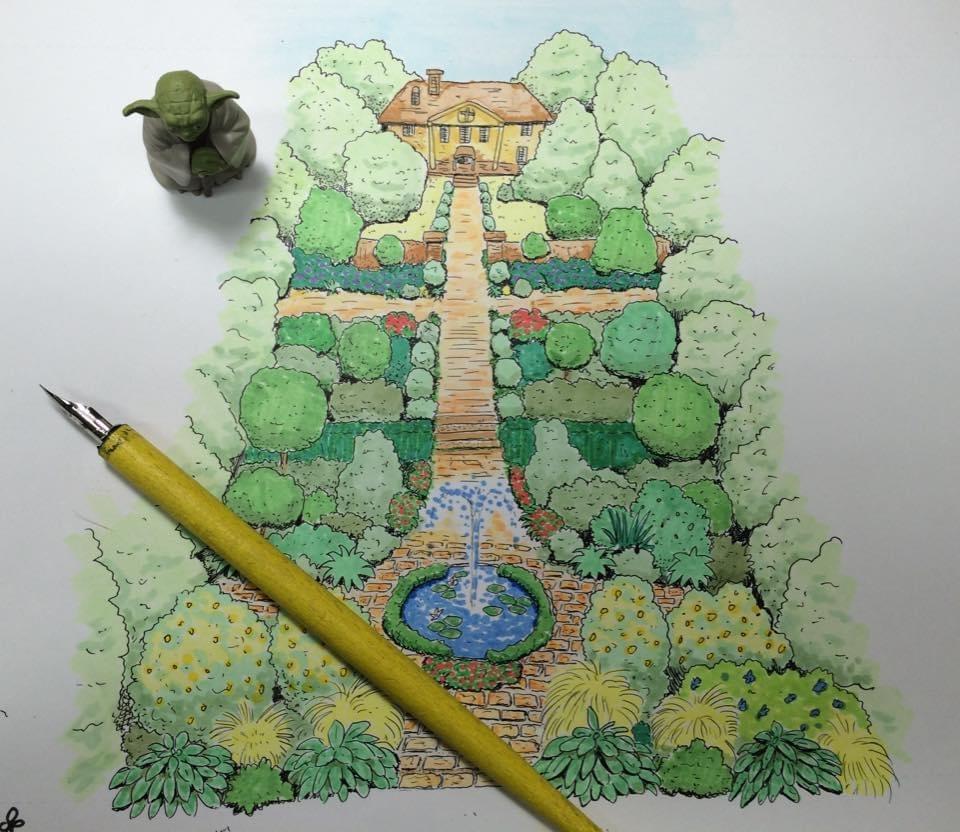 庭園デザイン