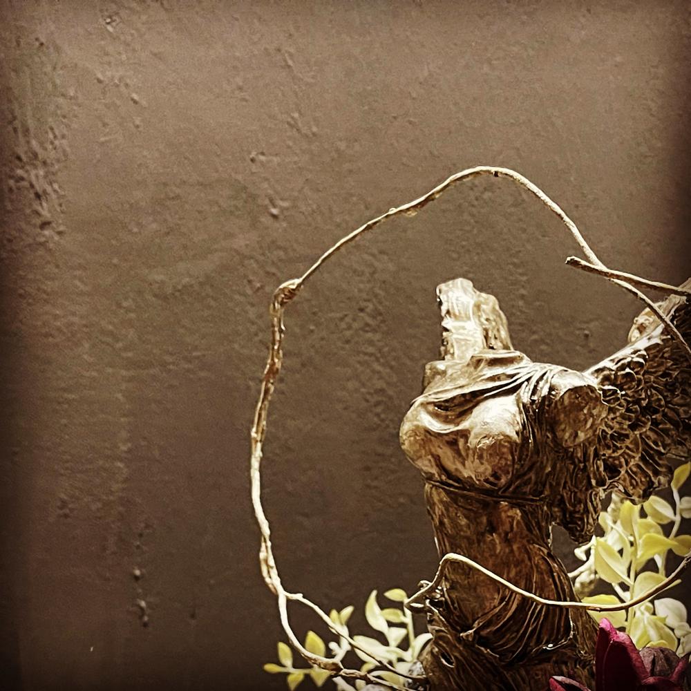アーティフィシャルフラワー 玄関 装飾 ひまわり 広島