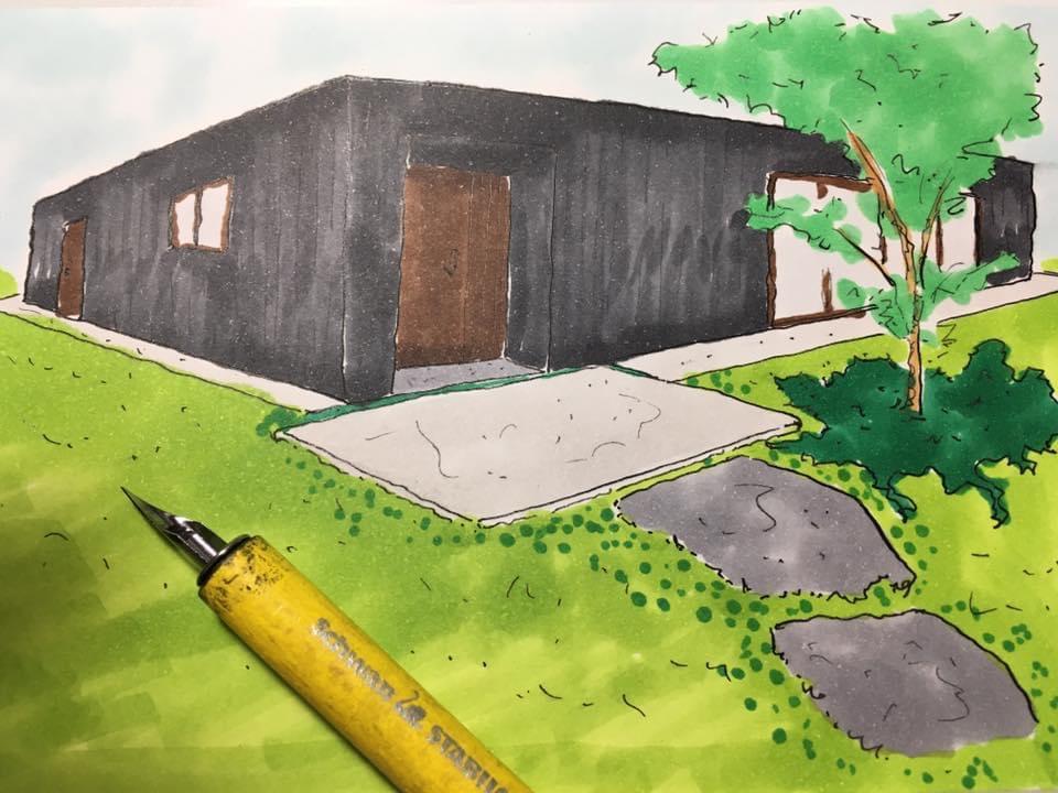 新築戸建 外構 デザイン