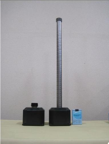 小型伸縮アクチュエーター 電動で収納から10倍の伸縮が可能です(高さ3m級も試作完成)