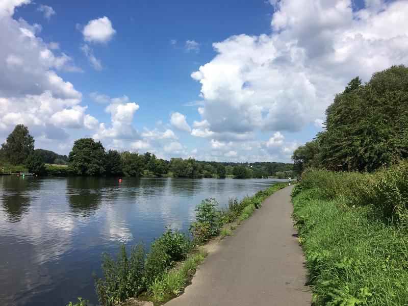 Radweg entlang des Dortmund-Ems-Kanals