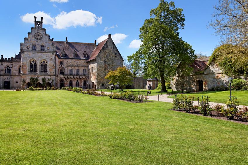 Burganlage in Bad Bentheim