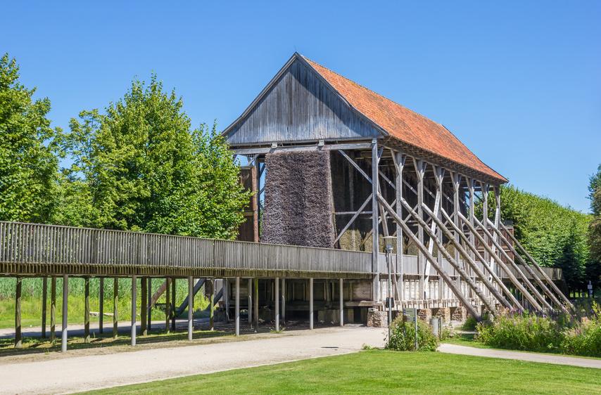 Saline in Rheine in der Nähe vom Zoo und dem Bentlager Schloss