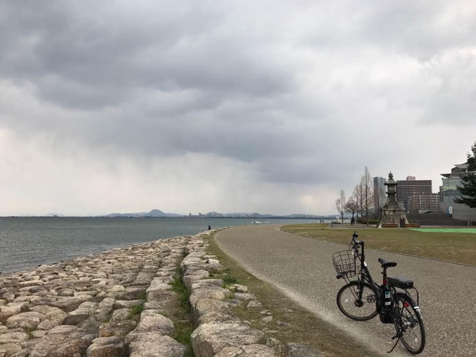 雄大なびわ湖を眺めて走るリゾート散走(3h)