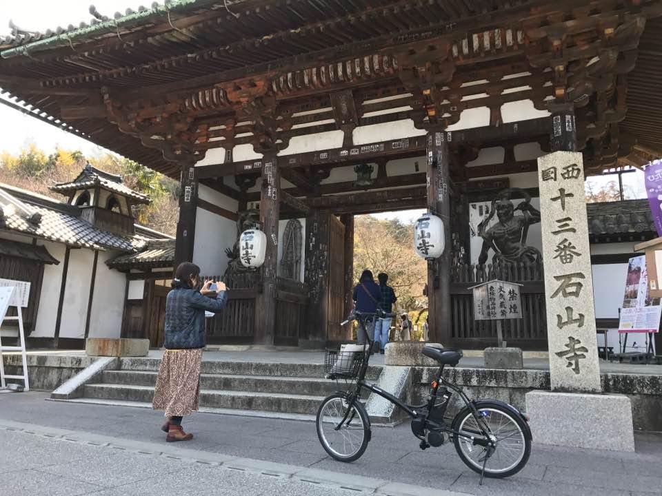 紫式部ゆかりの石山寺を語り部とめぐる文学散走(3h)