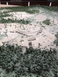 三内丸山遺跡の全貌(模型)