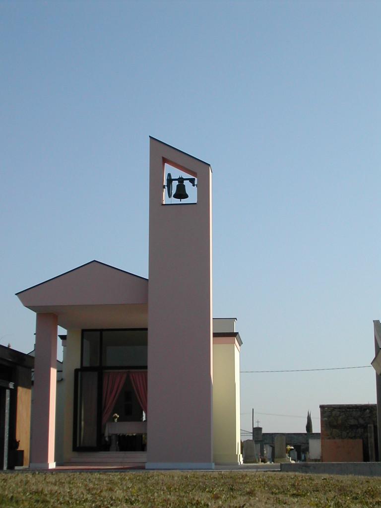 Nuova cappella del cimitero di Arzercavalli