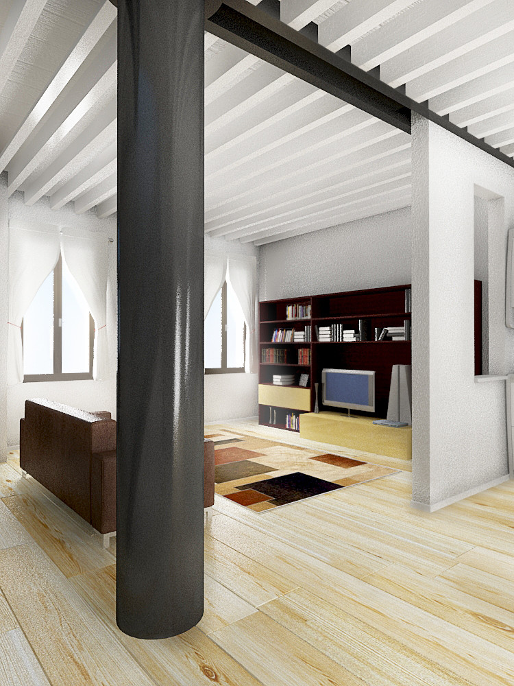 Ristrutturazione di edificio residenziale a Padova