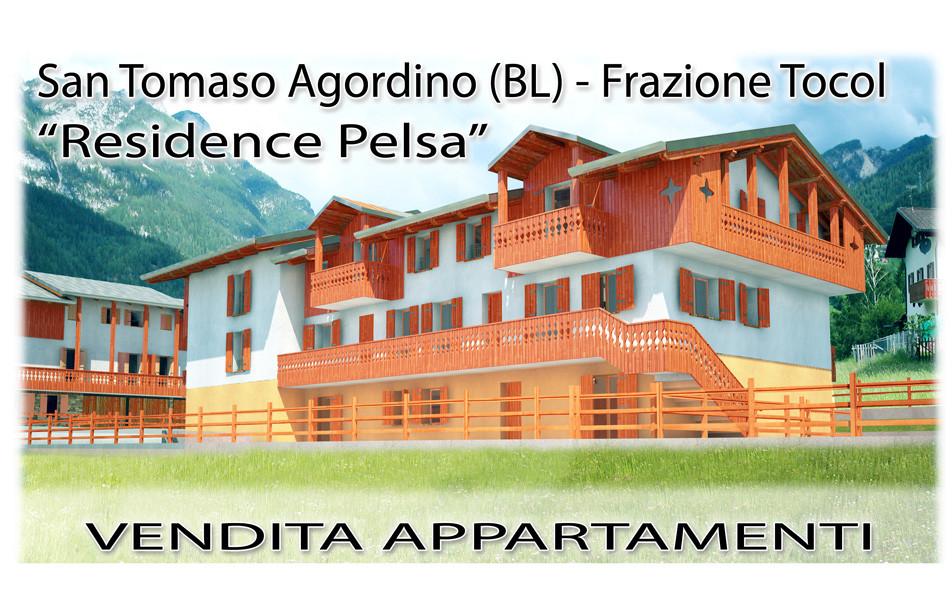 Nuovo edificio residenziale a San Tomaso Agordino