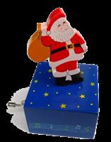 Boite à musique Père Noel