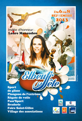 CHRIS MUSIC à Elbeuf sur Fête avec Les Plongeurs de l'Extrême
