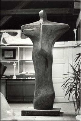 Grosse Kreuzform Holz 210  x 60 cm
