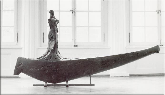 """Grosse Überfahrt Bronze """"Kunst am Bau Oberwangen"""" 210 x 95 cm"""