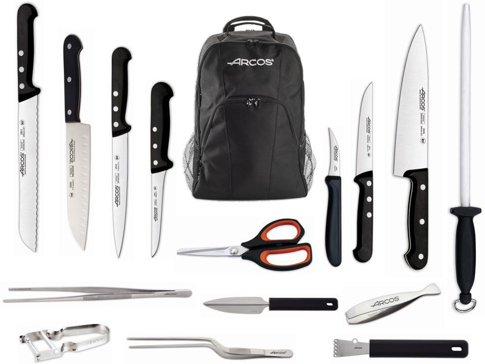 Nuevo juego chef universal arcos tienda de cuchillos online - Cuchillos para decorar fruta ...