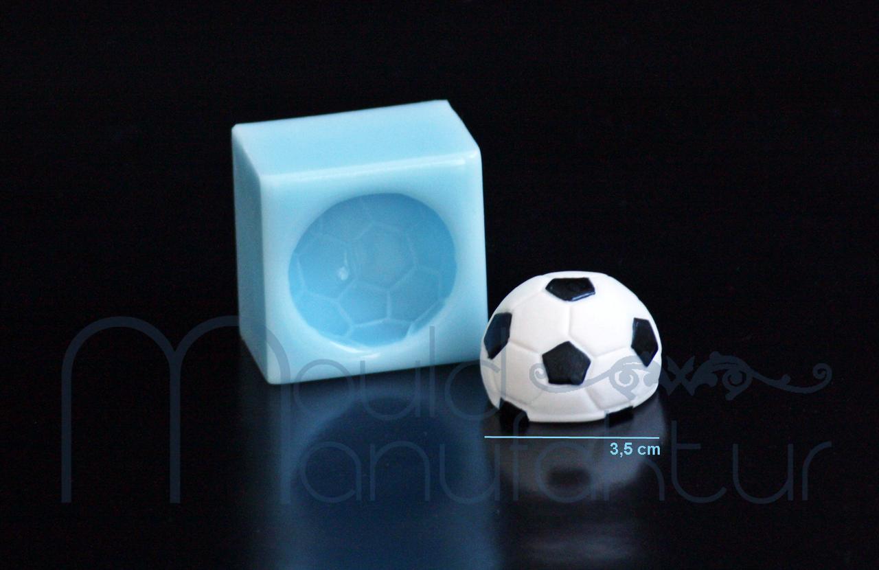 fu ball sport mode silikonformen f r fondant und. Black Bedroom Furniture Sets. Home Design Ideas