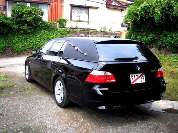 BMW5シリーズ 霊柩車