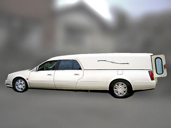キャデラック 霊柩車