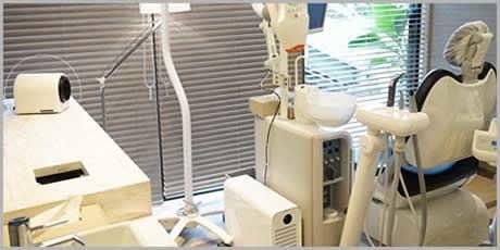 芦屋市 中山歯科医診察室