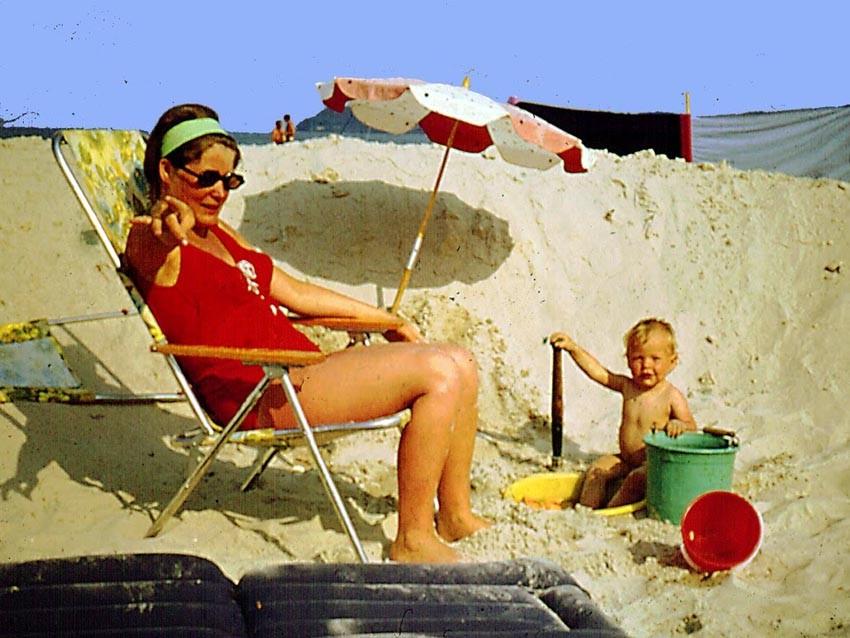 Erster Ostsee-Urlaub mit Zelt und Tochter in Binz