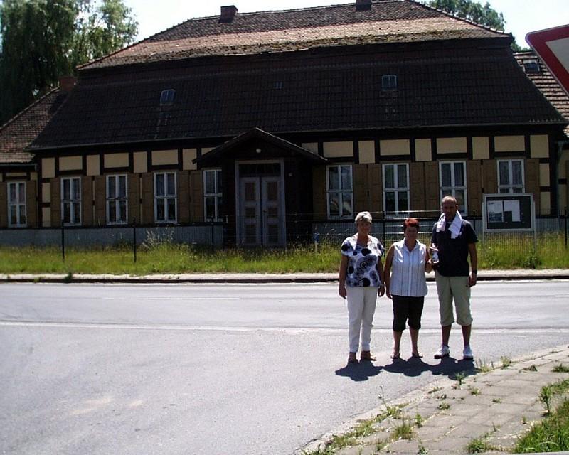 Gutshof Groß Beuchow - hier übernachtete unser Vater vom 4. zum 5. Mai 1945