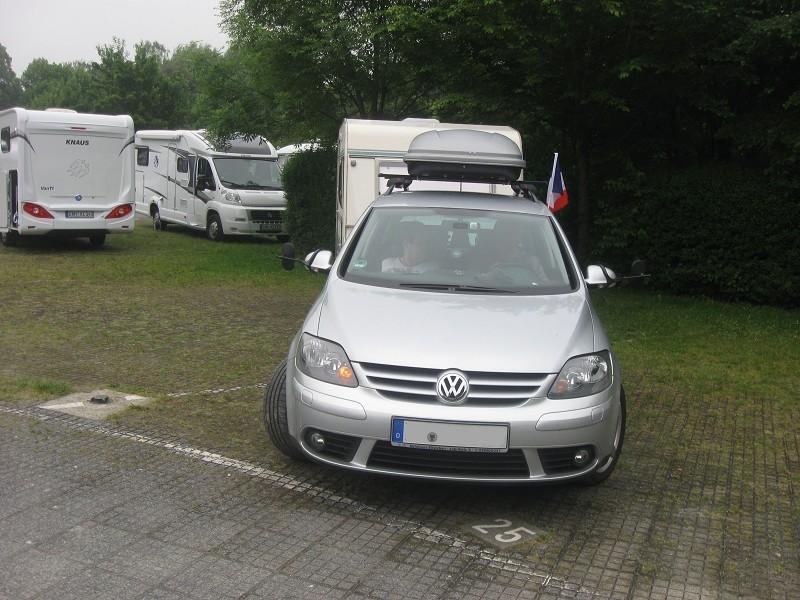 Abfahrt in Aachen - wir haben geflaggt!