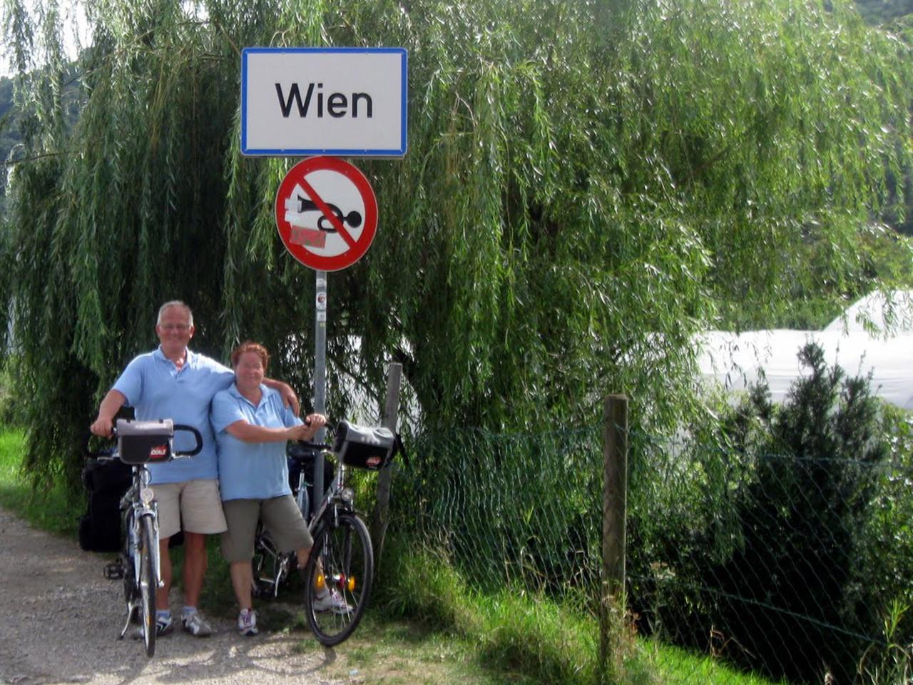 Donauradweg: Wir sind am Ziel