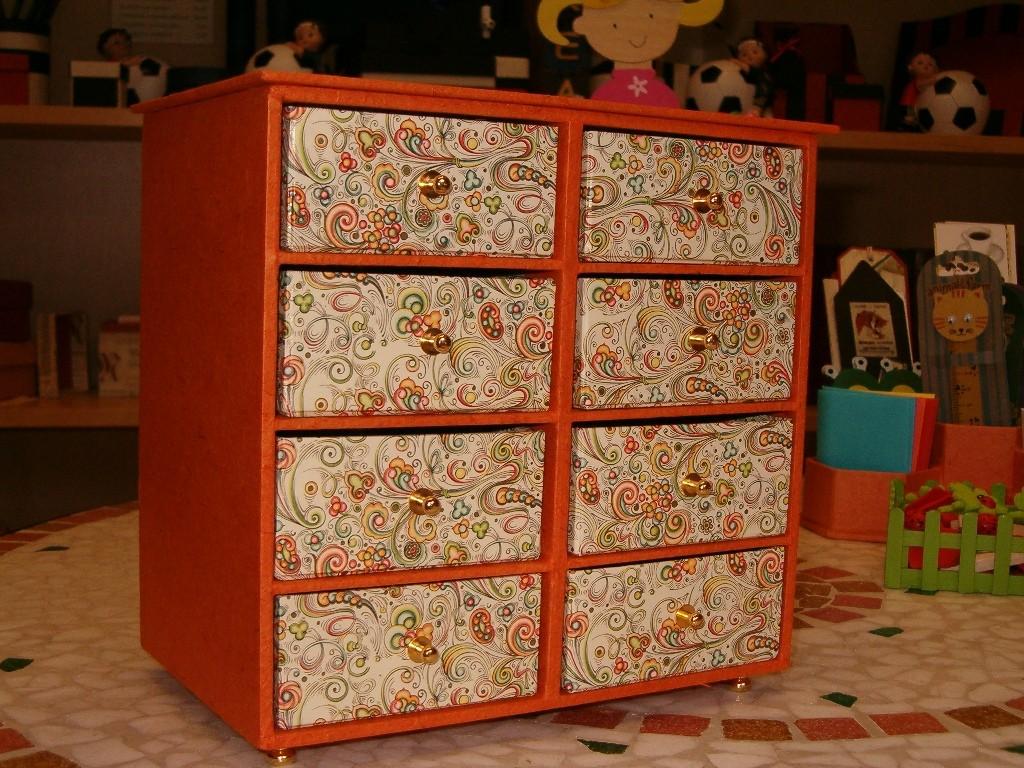 Classica cassettiera cm. 20x21x13 adatta come portagioie
