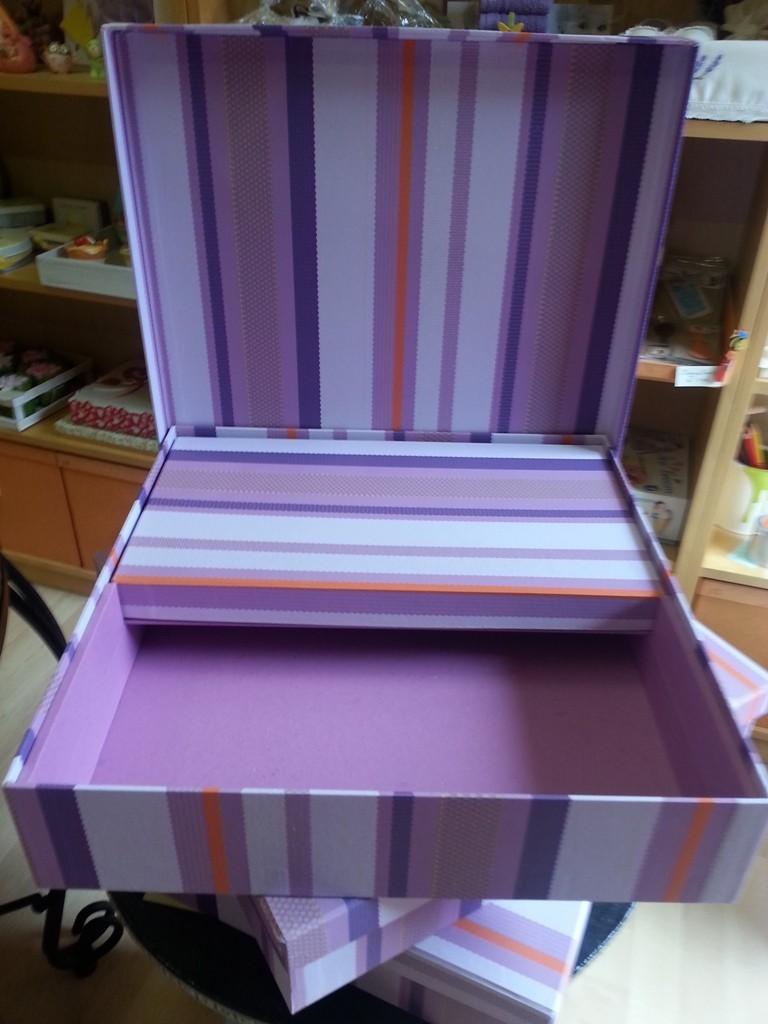 """Un'altra scatola con """"soppalco"""""""