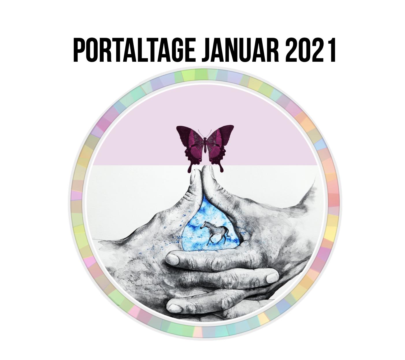 Portaltage im Januar 2021