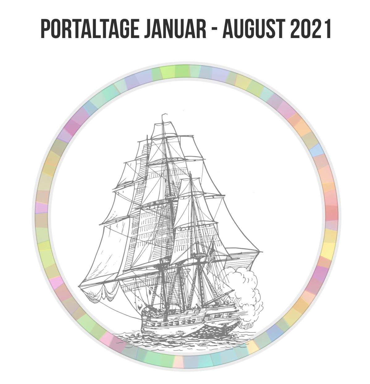 Übersicht Portaltage 1. und 2. Halbjahr 2021