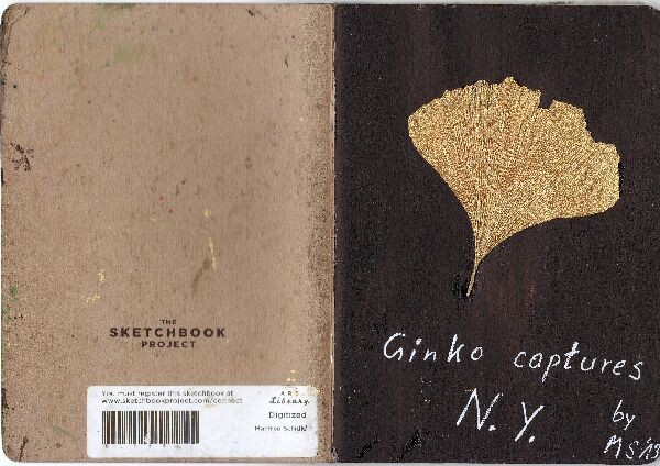 new york sketchbook projekt ; Ginko captures New York, 2013