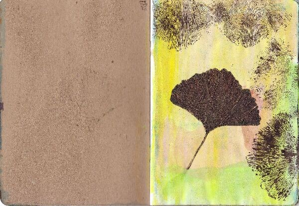 new yorksketchbook projekt; That´s me - Ginko biloba, 2013