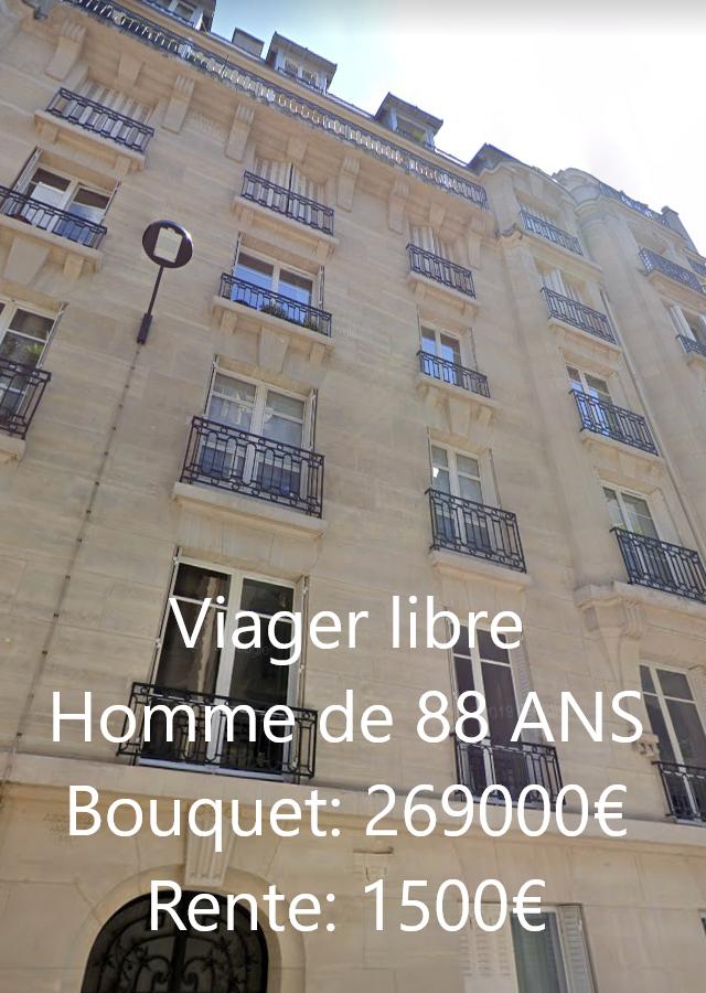 Viager Libre Paris 75016 general delestraint