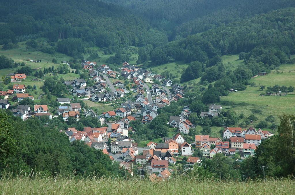 Blick auf Frammersbach