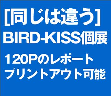 「同じは違う」BIRD-KISS個展資料