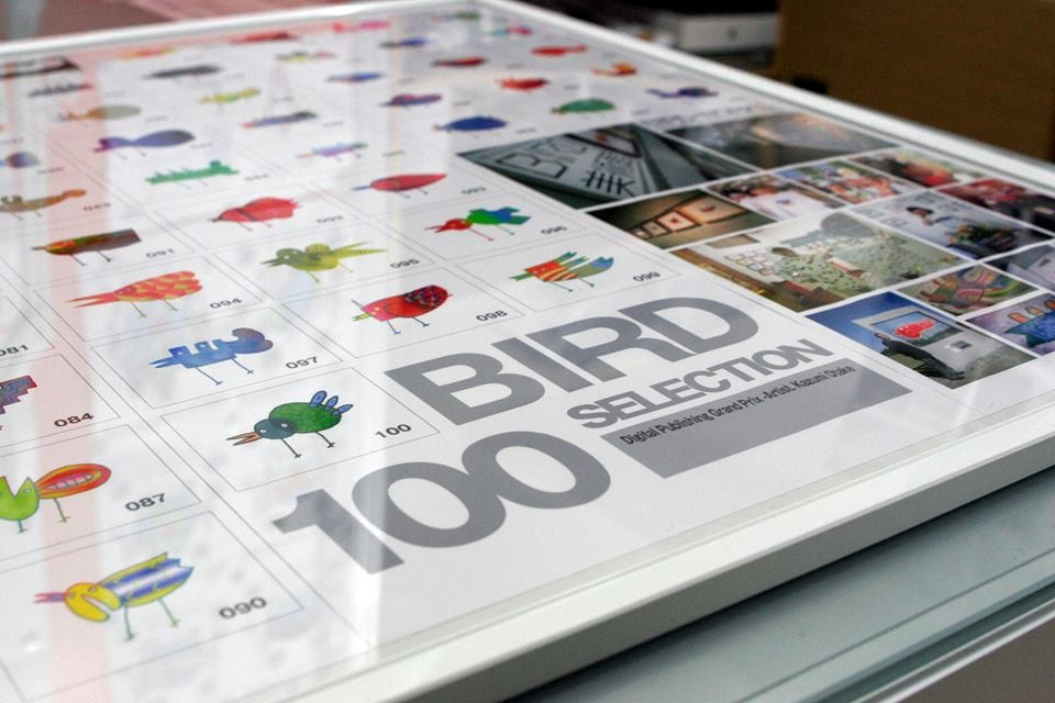 No.001〜No.100のBIRD