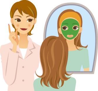 にきび、しみ、しわ、毛穴、肌トラブル、化粧かぶれにクロロフイル化粧料