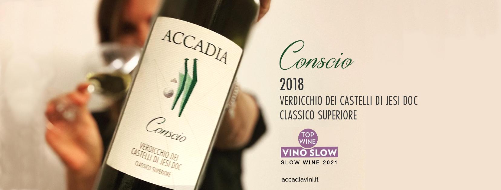 Guida Slow Wine 2021. Il nostro Conscio 2018 è TOP WINE - VINO SLOW