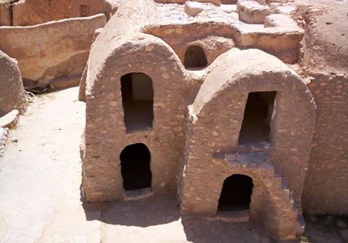 Historisches Ksar, Warenspeicher der Nomadenfamilien