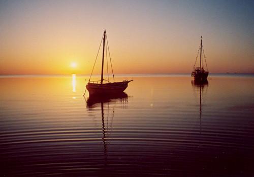 Kerkennah-Inseln, die schöne Mittelmeerküste