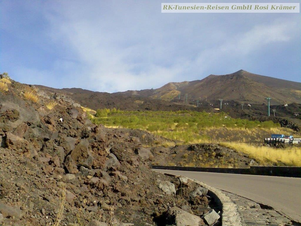 Darf ich vorstellen: Der Ätna, Euroas höchster Vulkan