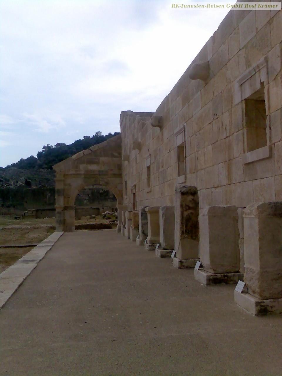 Im antiken Patara, in der Antike Regierungssitz der Lykier